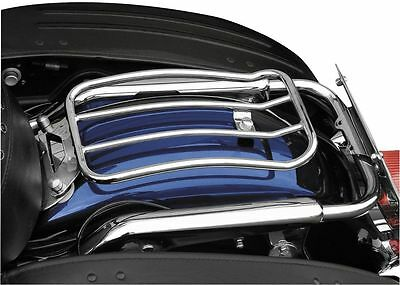 7in. Chrome Solo Luggage Rack Motherwell  MWL-430