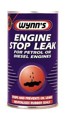 Wynn's Engine Stop Leak 325ml Oil Additive Sealer For Petrol And Diesel Engines