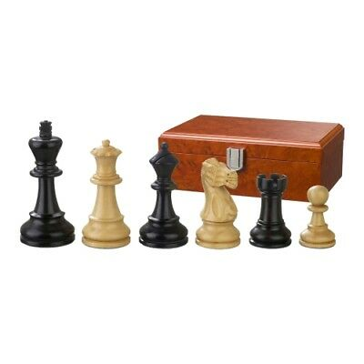 Chess figures - Hadrian - Wood - American Staunton - Kings height 90 mm