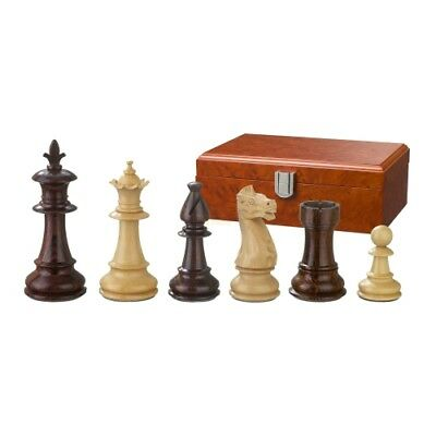 Chess figures - Claudius - Wood - Royal - Staunton - Kings height 83 mm
