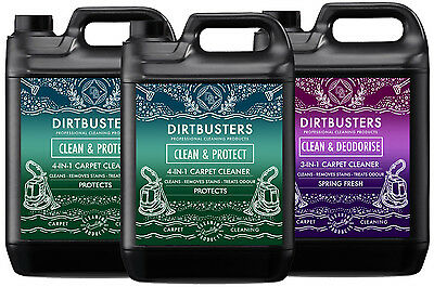 Professional Carpet Cleaning Solution Shampoo + deodoriser + protection 15 Litre