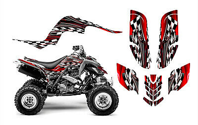 Raptor 660 graphics Yamaha 660R deco sticker kit NO2500 Red