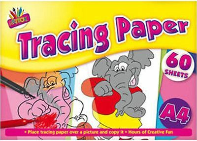 A4 Tracing Paper For Copying Craft Pad Creative 60Sheets Ideal for home/school