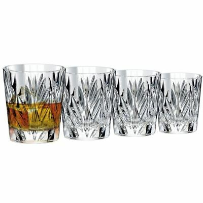 Dan Samuels - Cologne   Lead Crystal   Double Old Fashioned 312ml Set of 4   Mad