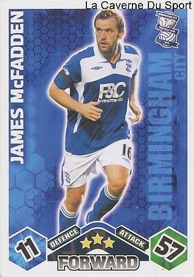 #046-BIRMINGHAM CITY TEAM PHOTO TOPPS 2010 PREMIER LEAGUE