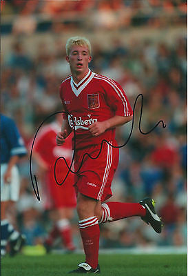 Robbie FOWLER Signed Autograph Action 12x8 Photo AFTAL COA Liverpool Anfield