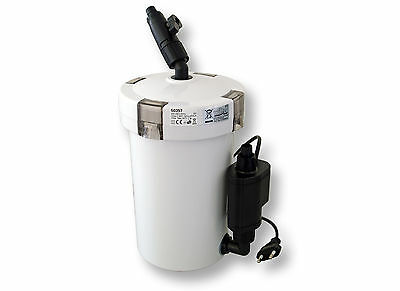 TTSunSun Aquarium External Canister 400l/h3Stage Filter materials Fish Tank 603B