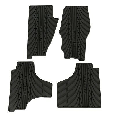 2007-2010 Dodge Nitro Dark Slate Slush All Weather Rubber Floor Mats Set OEM