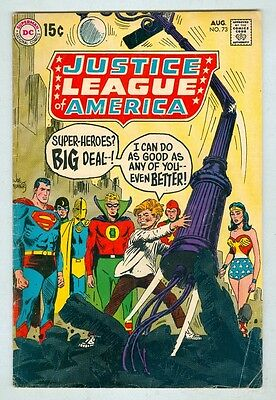 Justice League of America #73 August 1969 VG- JSA Story