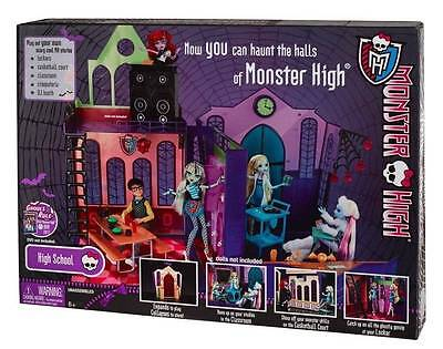 Monster High High School Playset Doll Play House brand new in pkg!