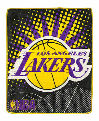 New NBA Los Angeles Lakers Ultimate Plush Throw Blanket Offical
