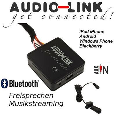 Bluetooth AUX VW MFD 2 Adapter 12-Pol Radio MP3 streamen freisprechen