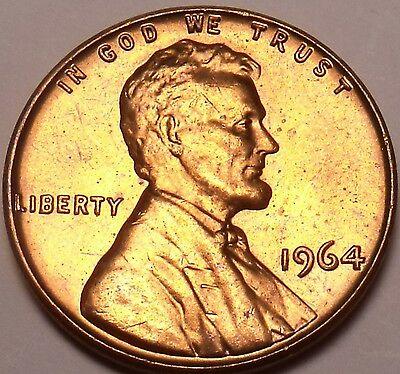 United States Unc 1964-P Lincoln Memorial Cent~Free Shipping