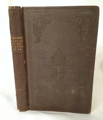 Medical Hydriatics Manual Water Cure Francis Graeter 1843 hydrotherapeutics