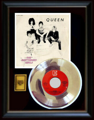 Queen Fat Bottomed Girls  Rare Gold Record Disc 45 Rpm