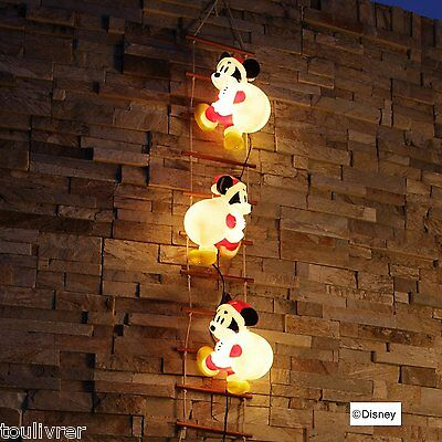 Disney Mickey blow light ladder 3P LED Illumination Decor