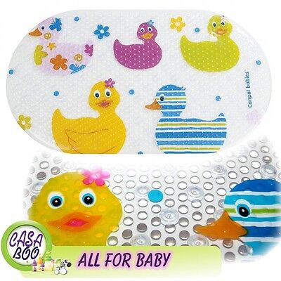 Anti-Slip Bath Mat Non-Slip suction cups Shower bathroom Fun Ducks Baby Safety