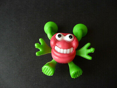 Jouet kinder Monstre ventouse rose K01 83 France 2000 +BPZ