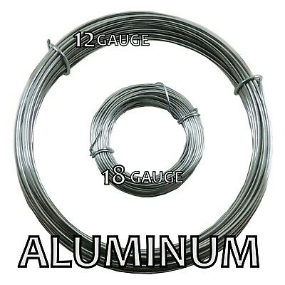 Aluminum Bead Smith Wire 12 and 18 gauge 39 ft