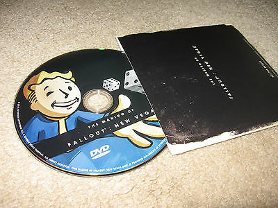 Making of Fallout New Vegas Collector Edition BONUS DISC (Xbox 360/One/X/PS3/PC)