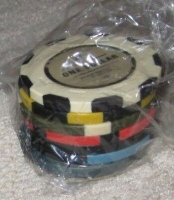 """Fallout New Vegas Collector Edition """"Lucky 7"""" Poker Chips Xbox 360/PS3/PC sealed"""