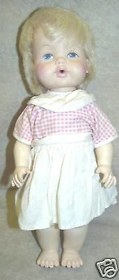 Vintage Eegee Soft touch type Baby Doll 1970's