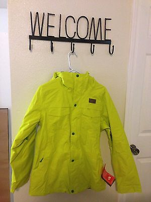The North Face Women's Ricas Insulated Jacket  Size:M Color: green