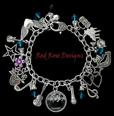 ~Panic! At The Disco Themed Charm Bracelet, Panic At The Disco~