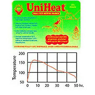 30 hour Uniheat Shipping Warmer Heat Pack for Reptiles Insects Fish Transport