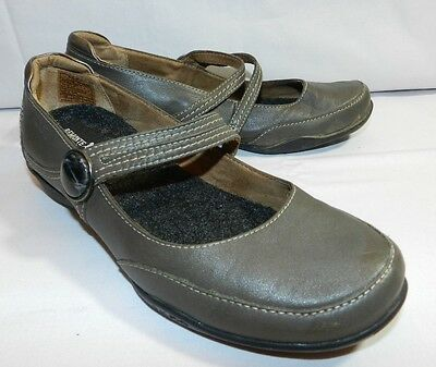 WOMENS gray Mary Jane office slip on SHOES = TAOS = SIZE 7 - ss19