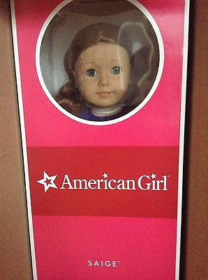 2013 American Girl Doll Saige Full Size (Retired) - Brand New In Original Box