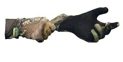 Primos Stretch Fit Gloves Sure Grip Palm Extended Cuff APG HD Camo Camouflage