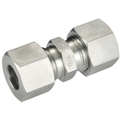316 Stainless Steel Compression Fittings - 25Od Straight Fitting Heavy 1-06807