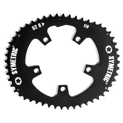 Osymetric BCD 130mm 5 Bolts 56T Alloy Road Bicycle Chainring