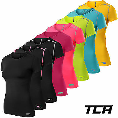 Women's TCA Pro Performance Short Sleeve Base Layer Running Training Top