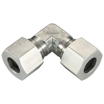 316 Stainless Steel Compression Fittings - 25Od Elbow Fitting Heavy 1-07632
