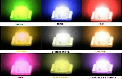 SMD/SMT LED 0603 0805 1206 White Red Blue Green Yellow,Orange,Pink,WarmWhite,U/V