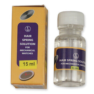 Hairspring cleaning solution watchmakers watch or pocketwatch repairs 20ml clean