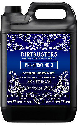 Carpet cleaning pre spray solution no3 shampoo Upholstery Cleaner 5L