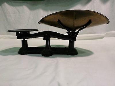VINTAGE FAIRBANKS COUNTER TOP BALANCE SCALE NO. 3 GENERAL STORE TYPE