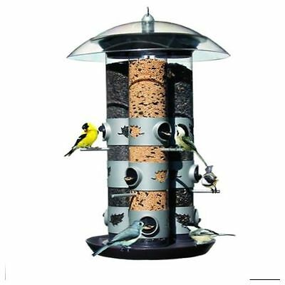Bird Feeders Triple Tube 2-in-1Port Technology Birdscapes with 9 Feeding Station