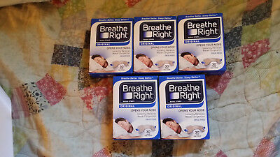 (150) BREATHE RIGHT NASAL STRIPS, LARGE TAN ( 5 x 30 CT Boxes) Ships World Wide