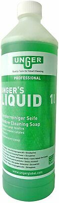 Unger's Liquid-1ltr. Window cleaning additive No Smears