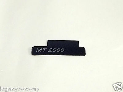 Motorola MT2000 Front Label Escutcheon Model 3305183R70 *OEM*