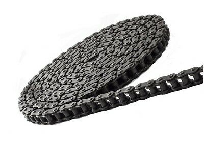 #40 Heavy Duty Roller Chain 10 Feet with 1 Connecting Link, 40H Chain