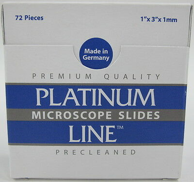 "NEW 720-Pack Mercedes Medical Twin Frost 90 Degree Microscope Slides 1""x3""x1mm"