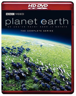 Planet Earth The Complete Series Hd Dvd 4 Disc Set Used Very Good Condition