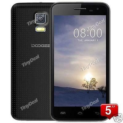 """New Unlocked DOOGEE VOYAGER2 DG310 smartphone 3G WCDMA 5""""Android 4.4 8GB ROM USA"""