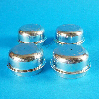 4 x 50mm Metal Grease Dust Hub Caps for Trailer Wheels              #2