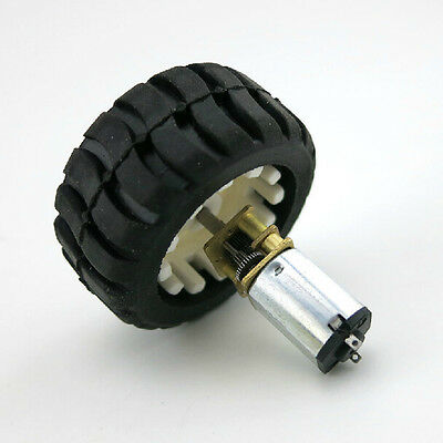 Best uk N20 Micro Gear Motor with Rubber Wheels 6V For Robot Smart Car
